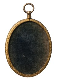 Lot 131A: Miniature Oval Portrait on Ivory