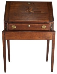 Lot 150: Cherry Desk on Stand