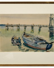 Lot 152: Two Watercolors