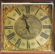 Lot 158: Early 18th c. English Tall Clock