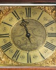 Lot 158: Early 18th c. English Tall Clock