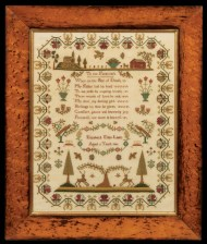 Lot 168A: Very Fine English Needlework Sampler