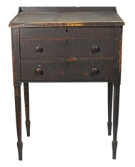 Lot 175: 19th c. Pine Stand-Up Desk