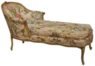 Lot 181: Early 20th c. Chaise