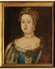 Lot 208A: 19th c. Portrait of Lady