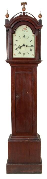 Lot 20: Edwards Tall Clock