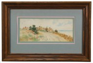 Lot 216: Watercolor of Damon's Point