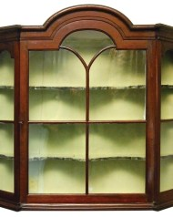 Lot 225: Hanging Display Cabinet