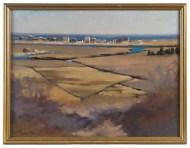 Lot 227: Landscape Oil by Joreen Benbenek
