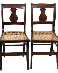Lot 255: Set of Four Side Chairs