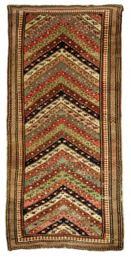 Lot 37A: Antique Gendjeh Rug