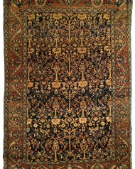 Lot 37: Antique Sarouk Garden Rug
