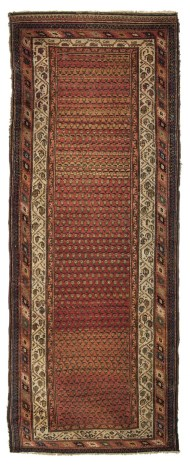 Lot 38C: Early 20th c. Saraband Rug