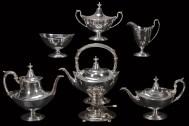 Lot 41: Sterling Silver Tea Set