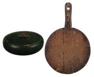 Lot 52: Treenware Bowl and Cutting Board