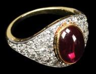 Lot 78C: Ruby Ring