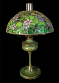 Lot 83: Signed Tiffany Lamp