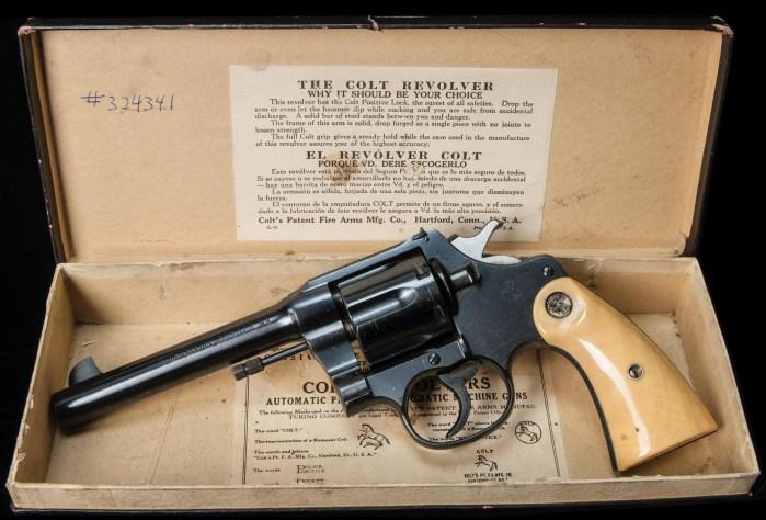 Lot 92A: Colt New Service 44 Special