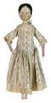 Lot 161: 19th C. German Grodnertal Wooden Doll