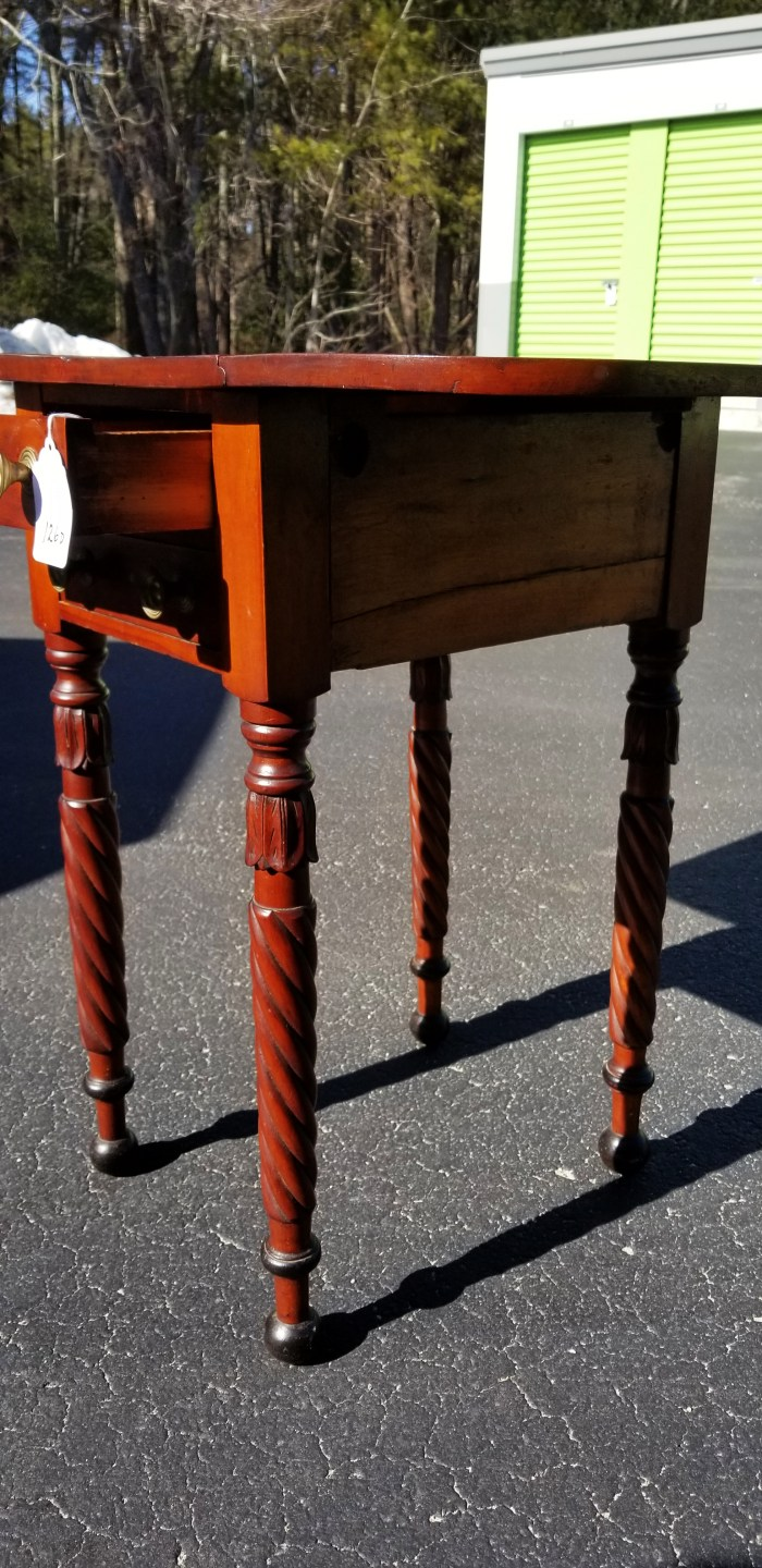 drop, leaf, sewing, stand, cherry