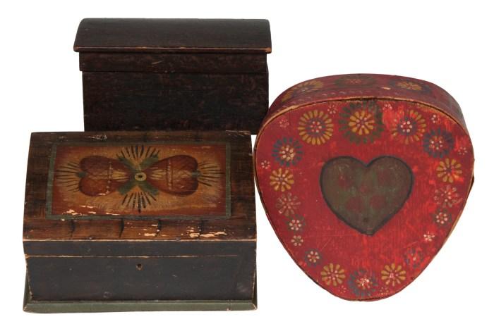 bureau, box, pine