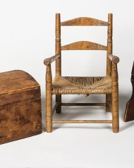 children's, chest, armchair, footstool