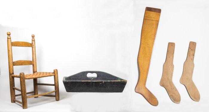 two slat, chair, tool holder, sock stretcher