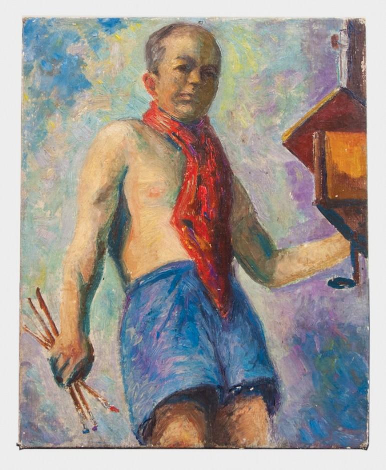 oil, portrait, geiss