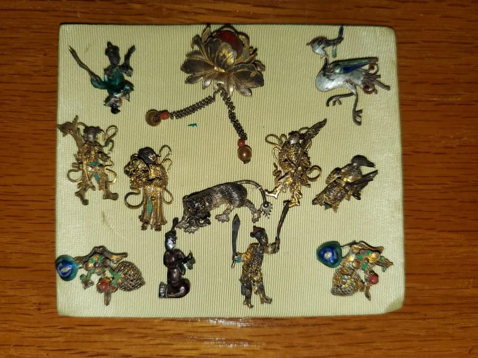 Chinese Bronze Items