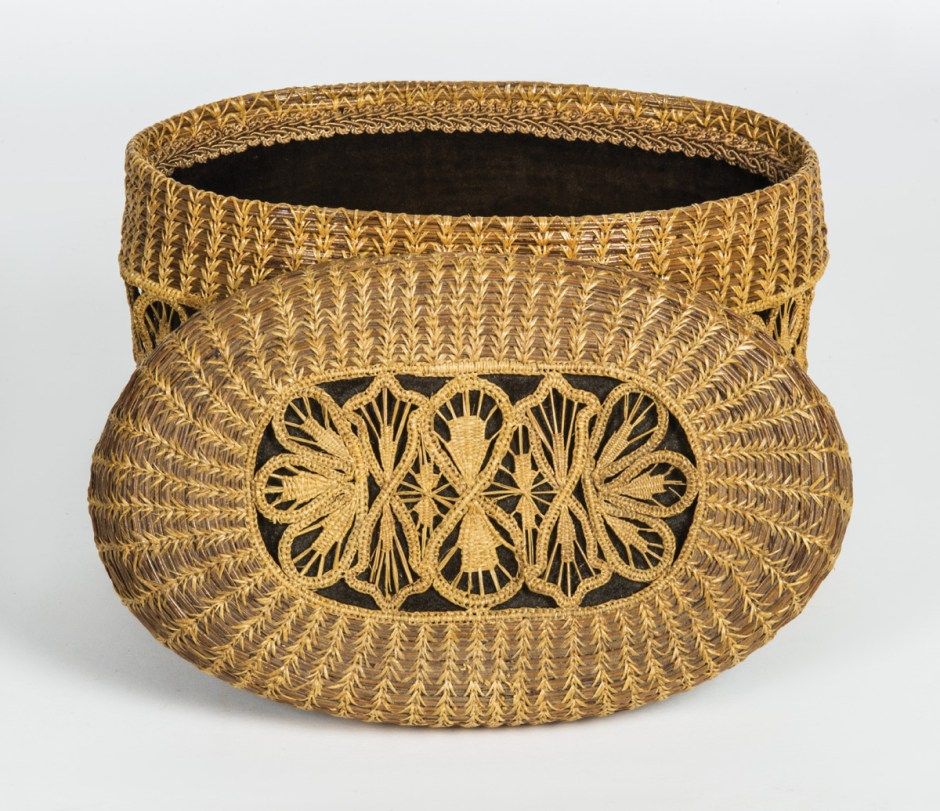 Mic-Mac Indian Style Basketry/Box