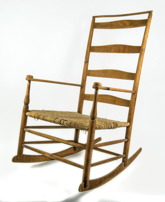 19th C. Shaker Production Rocking Chair