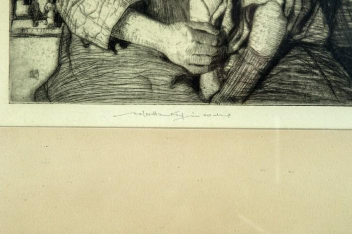 Etching By W. Lee-Hankey