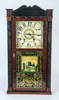 19th C. Shelf Clock