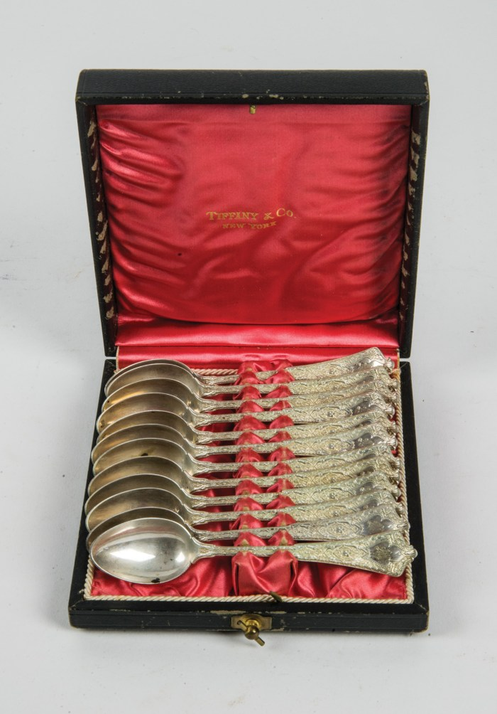 Tiffany Sterling Teaspoons