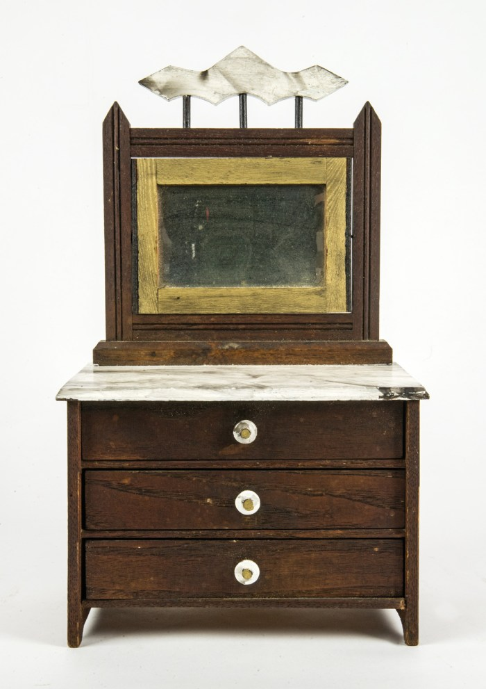 Doll's Bureau With Mirror