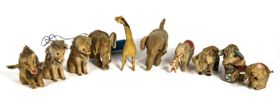 Wild Animal Wind-Up Toy Collection