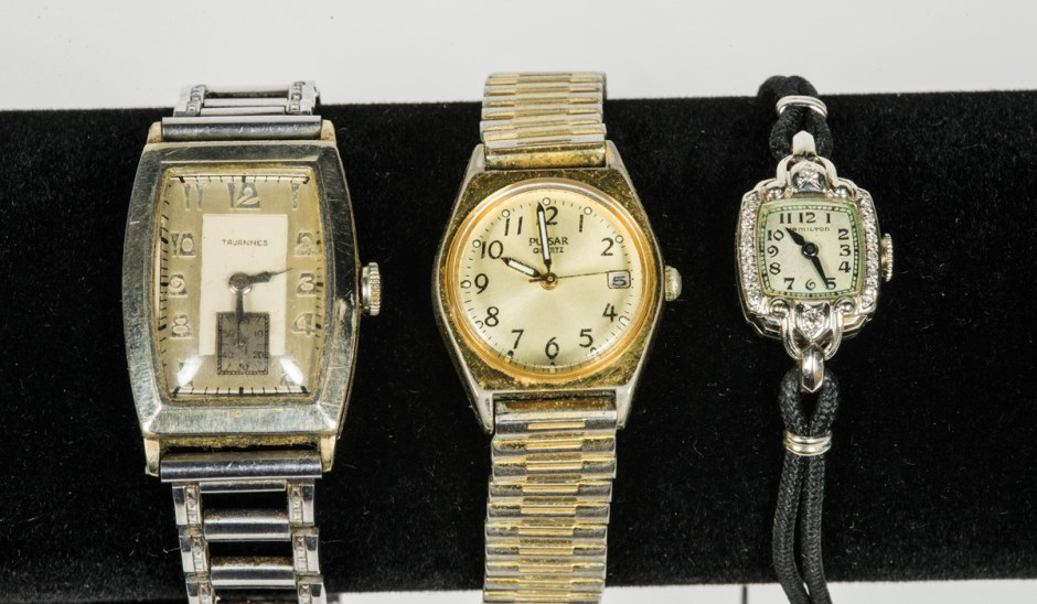 Six Wristwatches
