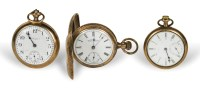 Three Gold Pocket Watches