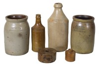 19th C. Stoneware Collection