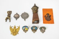 Garuda, Amulet Cases, Figures