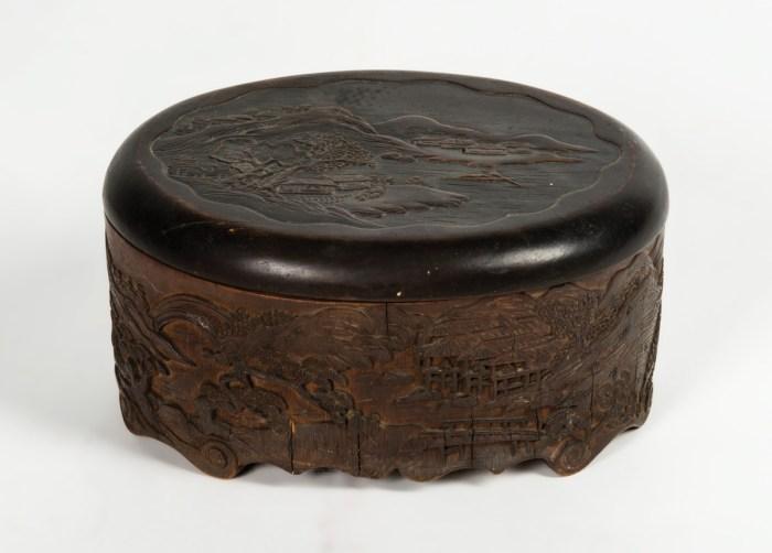 Two Oriental Boxes