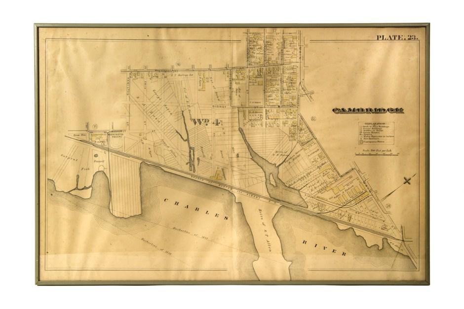 Map of Cambridge, Mass.