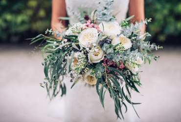 ramo de novia monasterio de lupiana precioso