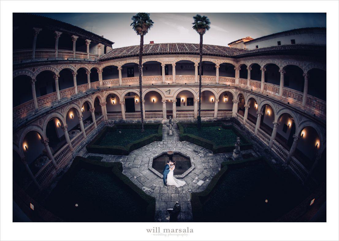 finca de bodas en el monasterio de lupiana