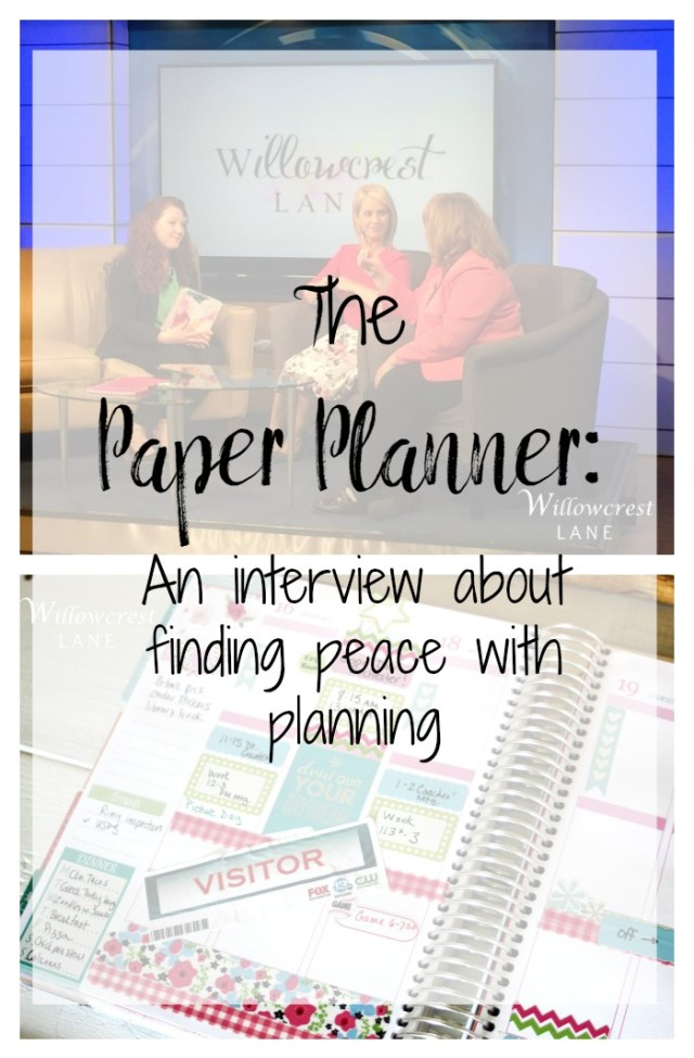 Willowcrest Lane Paper Planner Interview Norah Pritchard