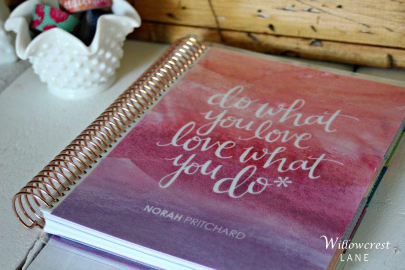Willowcrest Lane: 2017 Erin Condren Life Planner Review