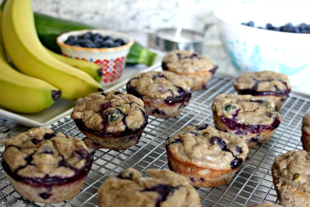 willowcrest lane blueberry zucchini muffins