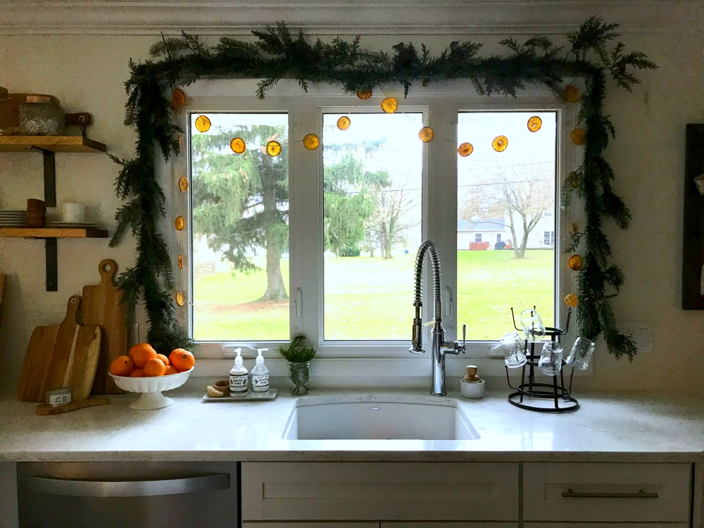 Make a new homemade holiday tradition with DIY Dried Orange Garland