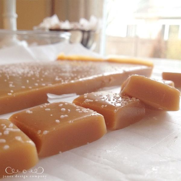 Amazing and easy to make sea salt caramels.
