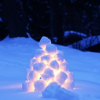 Swedish Snowball Lanterns